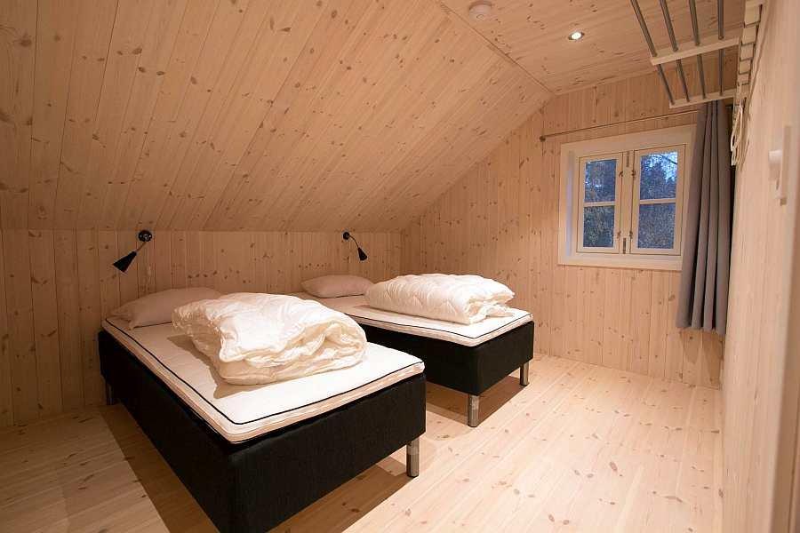 Das zweite der Schlafzimmer mit 2 Einzelbetten