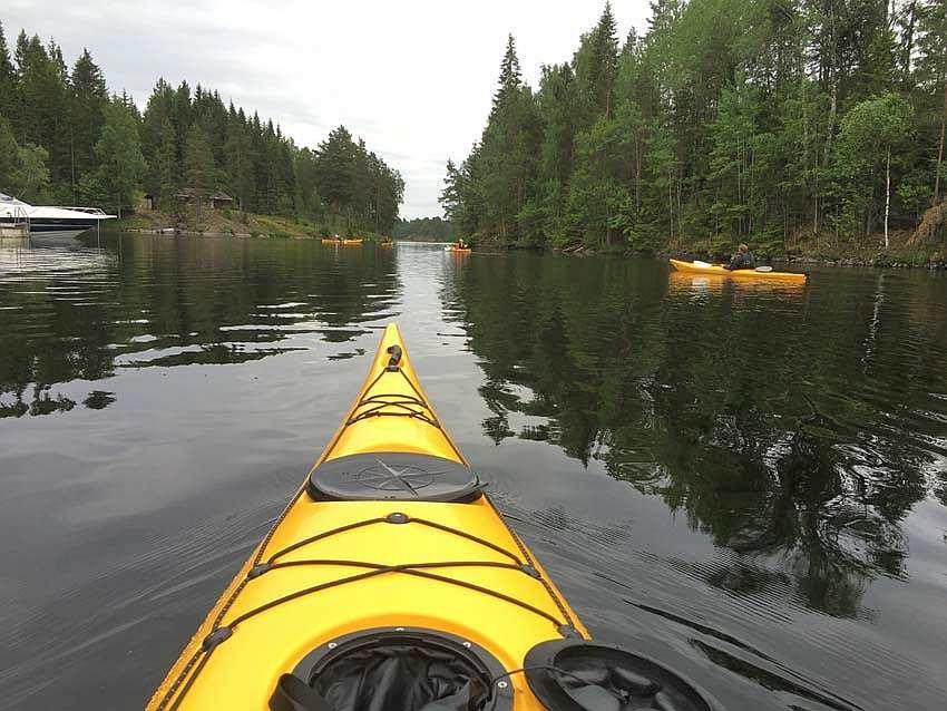Ausflug mit dem Kanu - sehr empfehlenswert!