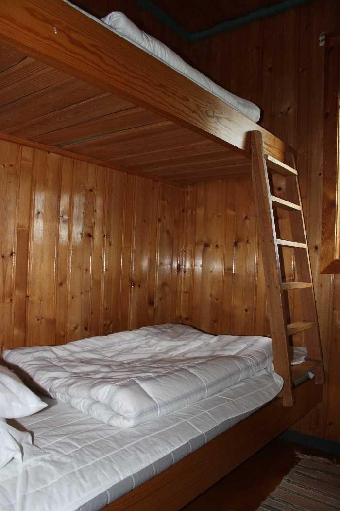 Schlafzimmer mit 1 Etagenbett