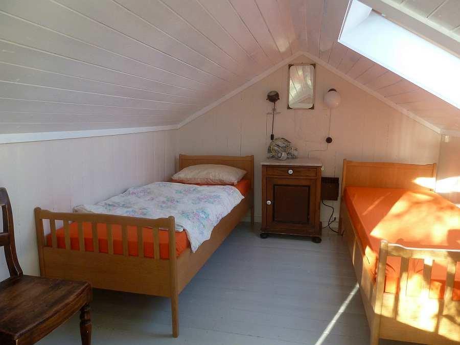 Schlafzimmer Nr. 3 im Hems