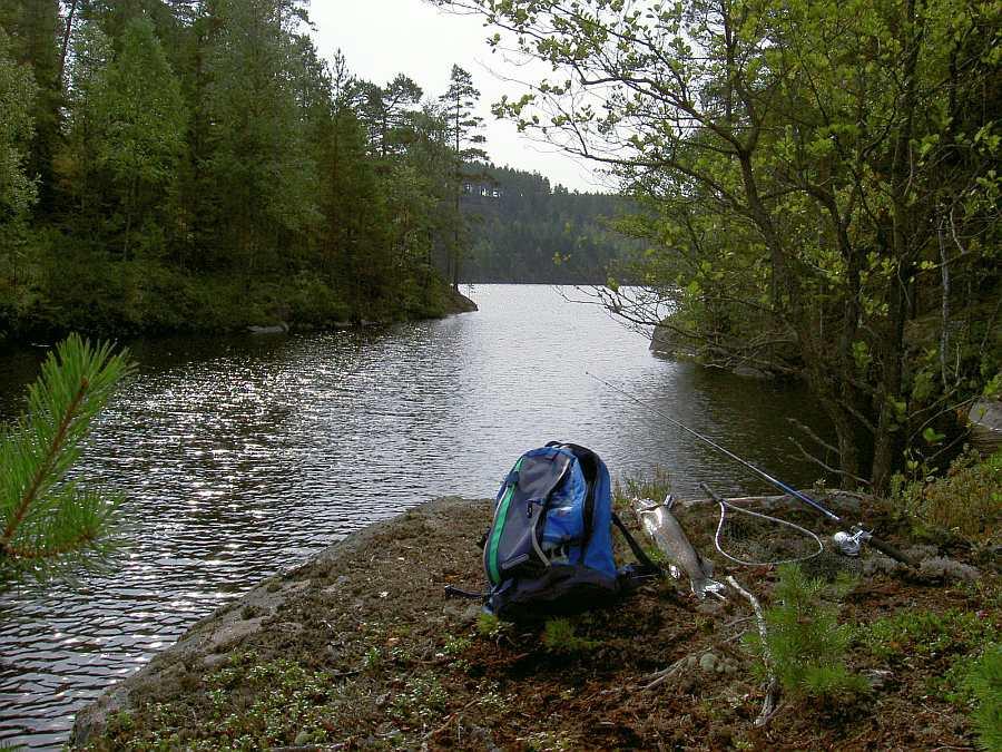 Der Skirfossen - der Übergang vom einem See zum nächsten -  ist immer einen Versuch wert!