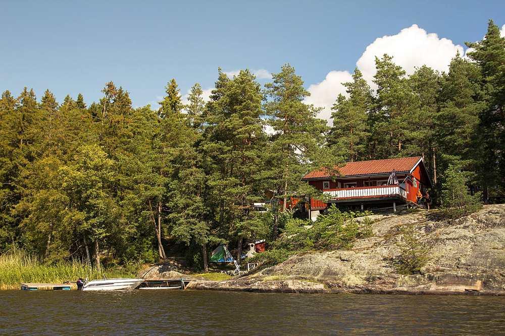 Ferienhaus Ekly - ein Urlaubstraum auf norwegisch  - direkte Wasserlage am See Vansjøe