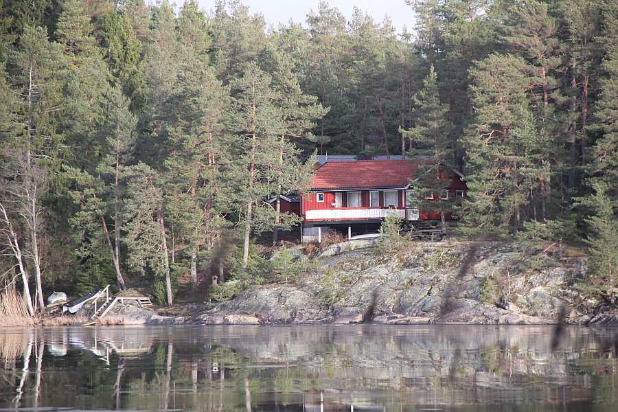 Ferienhaus Ekly - direkte Wasserlage am See Vansjøe