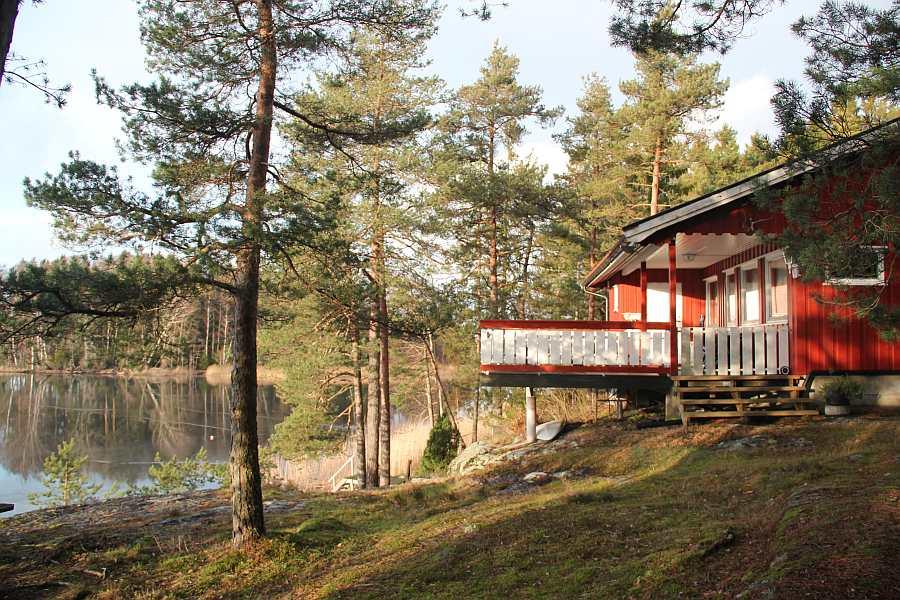 Haus Ekly ist von Wald umgeben