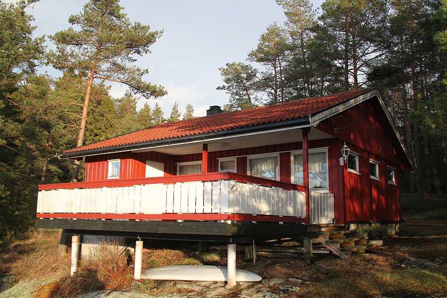 Ferienhaus Ekly bietet Platz für bis zu 4 Personen