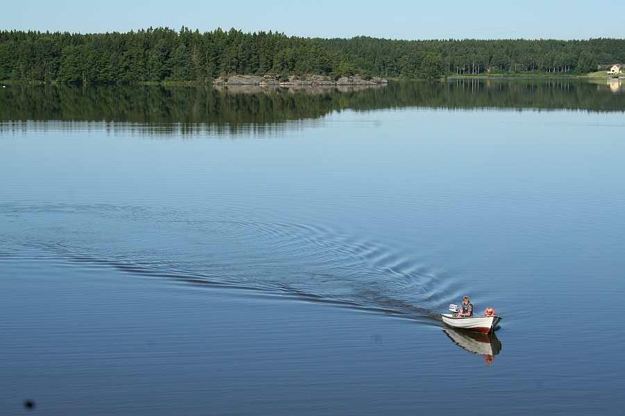 Norwegenidylle am Wasser