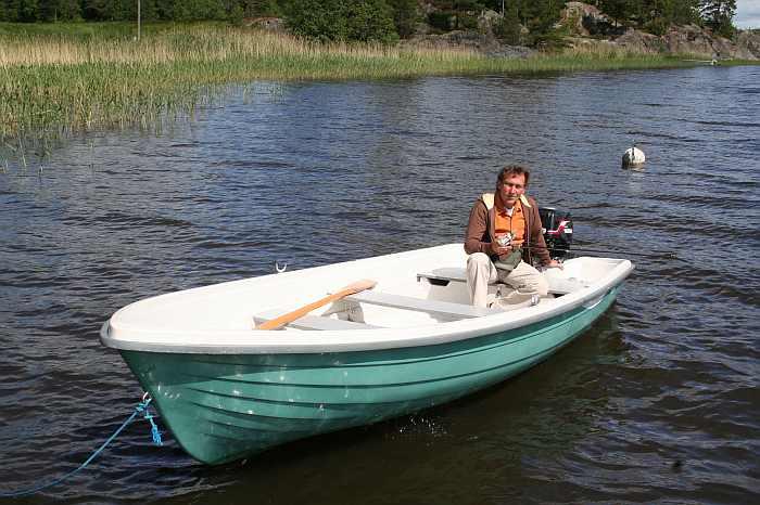 Angelboot 14 Fuß/9,9 PS - bereits im Hauspreis enthalten