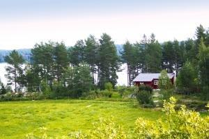 Ferienhaus Furuly mit direkter Lage am See Vansjø