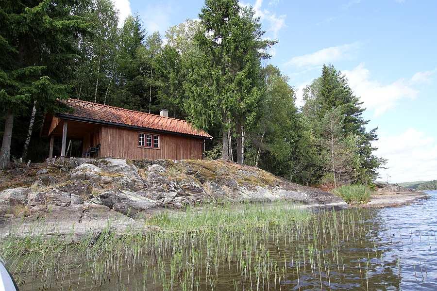 Ferienhaus Henæskoia mit direkter Lage am See Vansjø