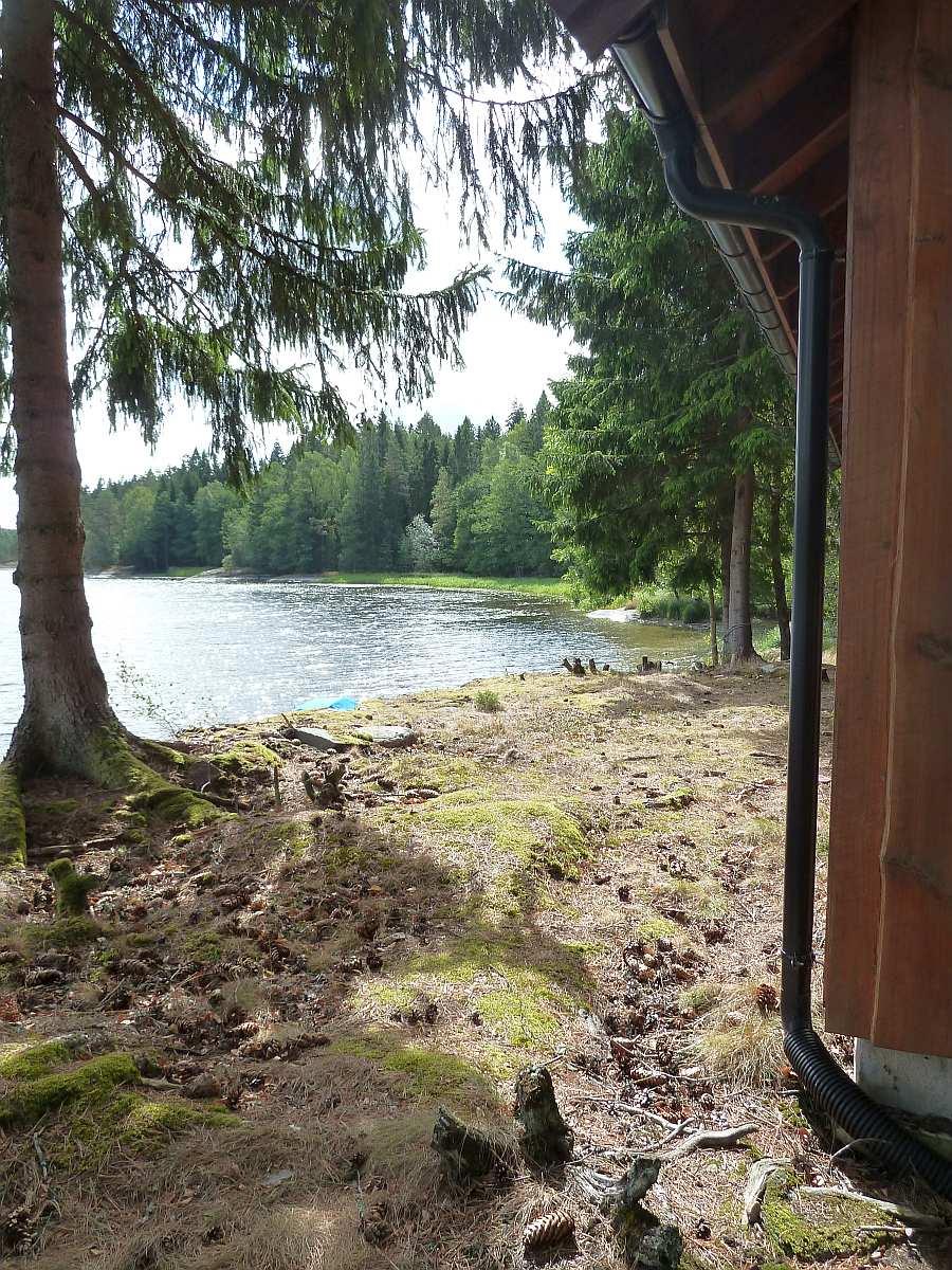 Näher am See  kann man kaum noch wohnen...
