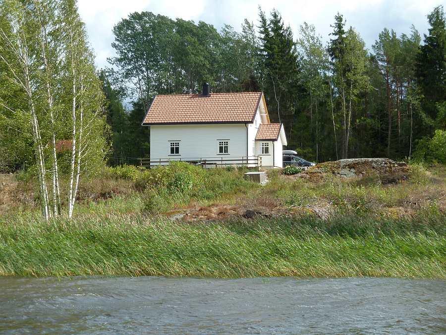 Ferienhaus Kilen - direkte Lage am Ufer des Sees Vansjø