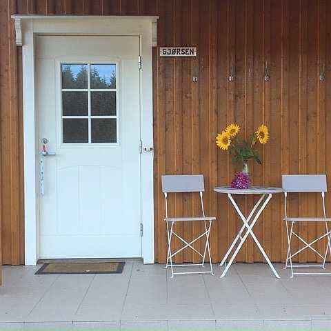 Eingangsbereich in eine der Ferienwohnungen