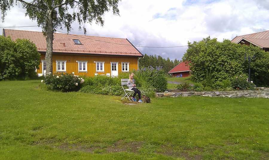 Kjærnes Gaard - ideal auch für Familien und Gruppen