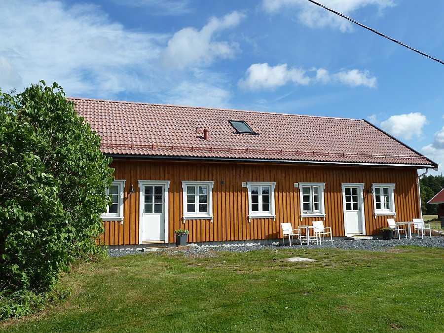 Kjærnes Gaard liegt am See Vansjø