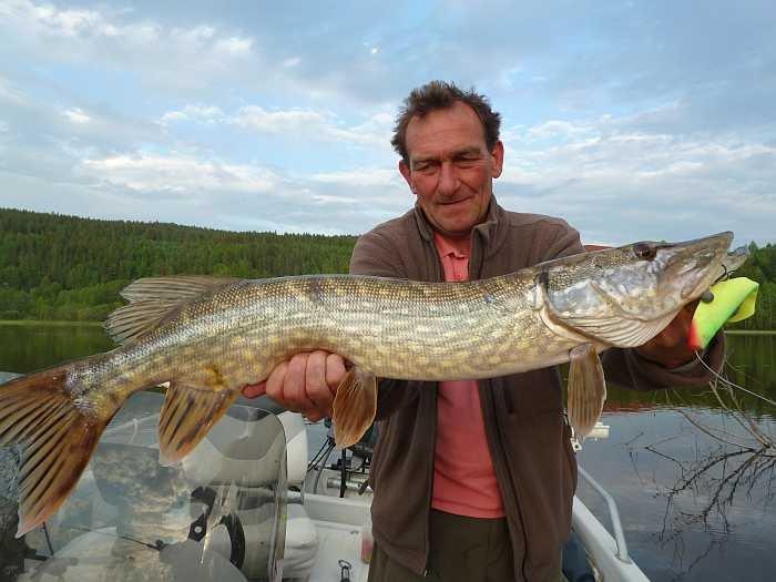 Thordes bei Testfischen im Juni