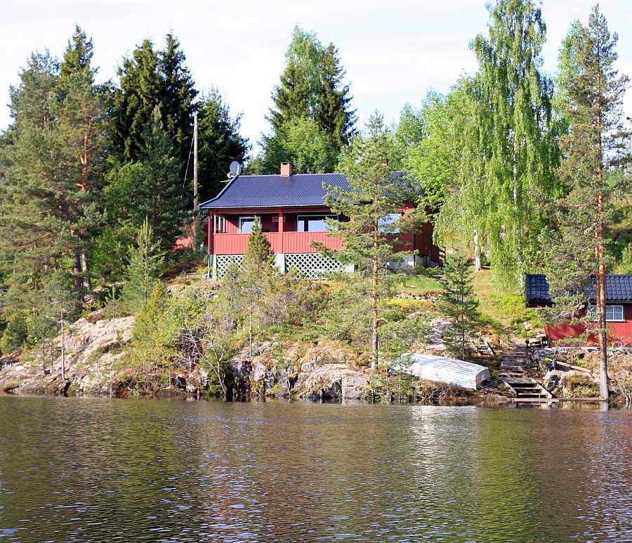 Ferienhaus Sjøly mit direkter Lage am See Storsjøen