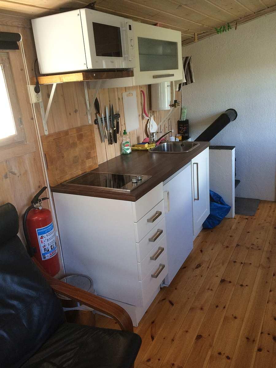 Studioküche in Typ 2 - komplett ausgestattet
