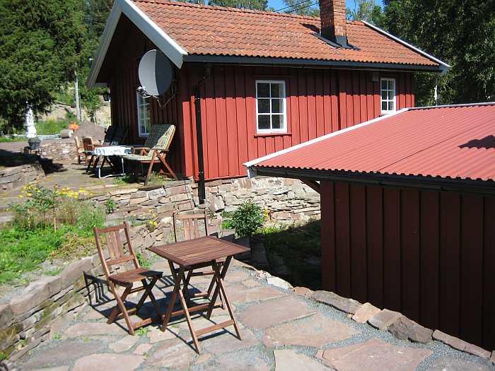 Ferienhaus Tangen Typ 1 für max. 4 Personen - nur ca. 20 m vom Seeufer des Steinsfjord entfernt