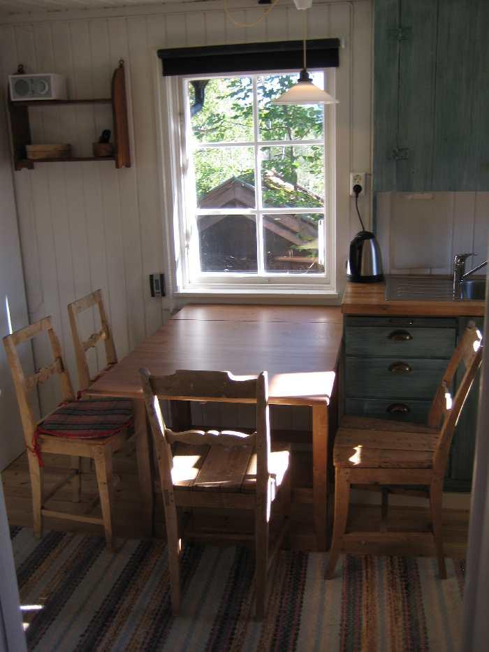 Essbereich in der Küche von Haus Typ 1