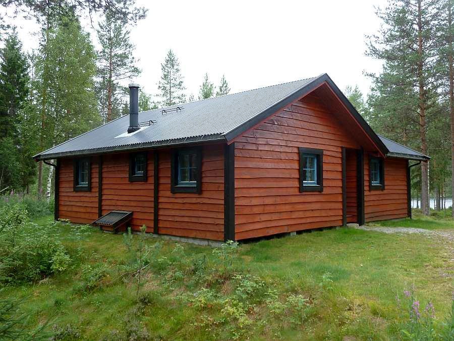 Das Haus Fluefiske liegt in absoluter Alleinlage und bietet bis zu 6 Personen Platz