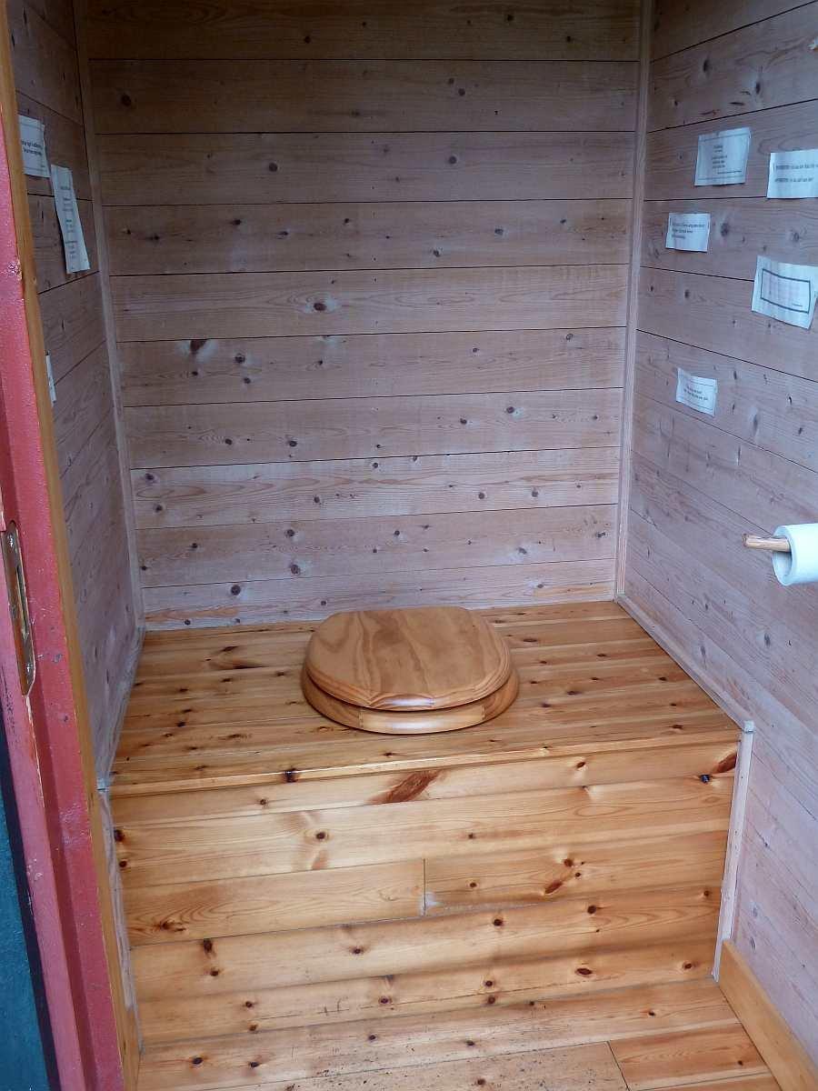 Wie man sieht... keine Angst vor norwegischen Biotoiletten!