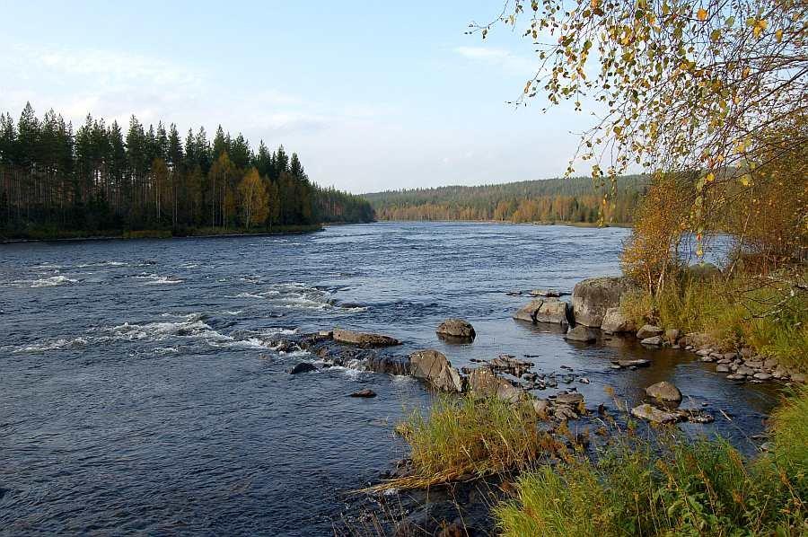 Die allgemeine Flußstrecke der Tysilevla