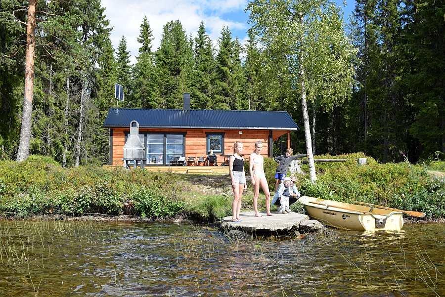 Das Haus und alles drum herum ist absolut tauglich für Natur liebende Familien