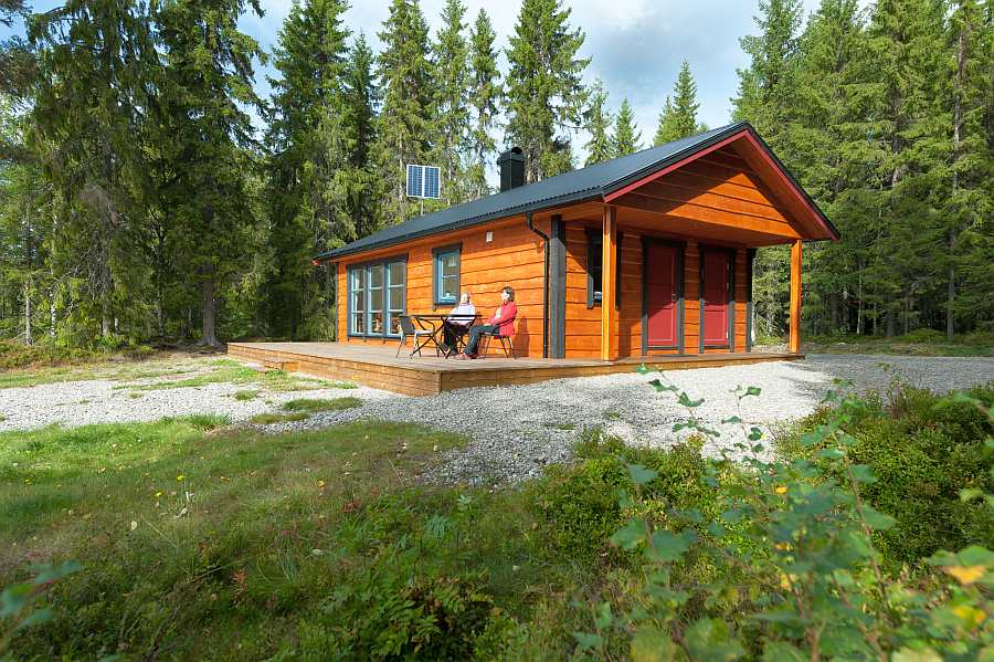 Ferienhaus Landsjøen - perfekt um einen entspannten Urlaub zu verleben...