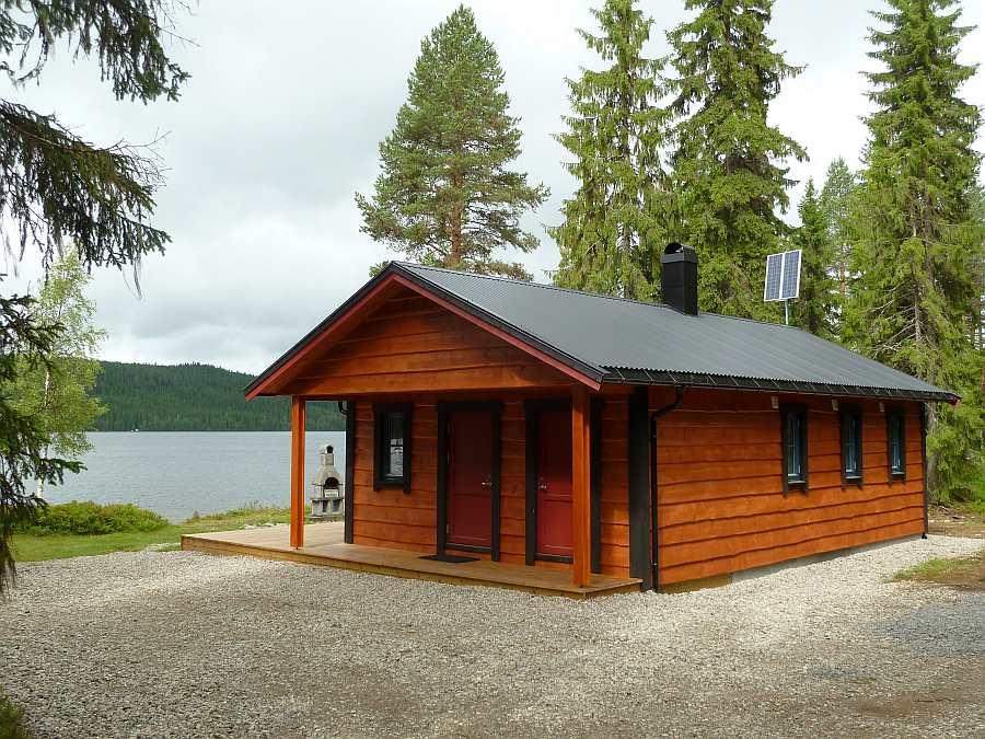 Im Haus Landsjøen finden bis zu 6 Personen Platz