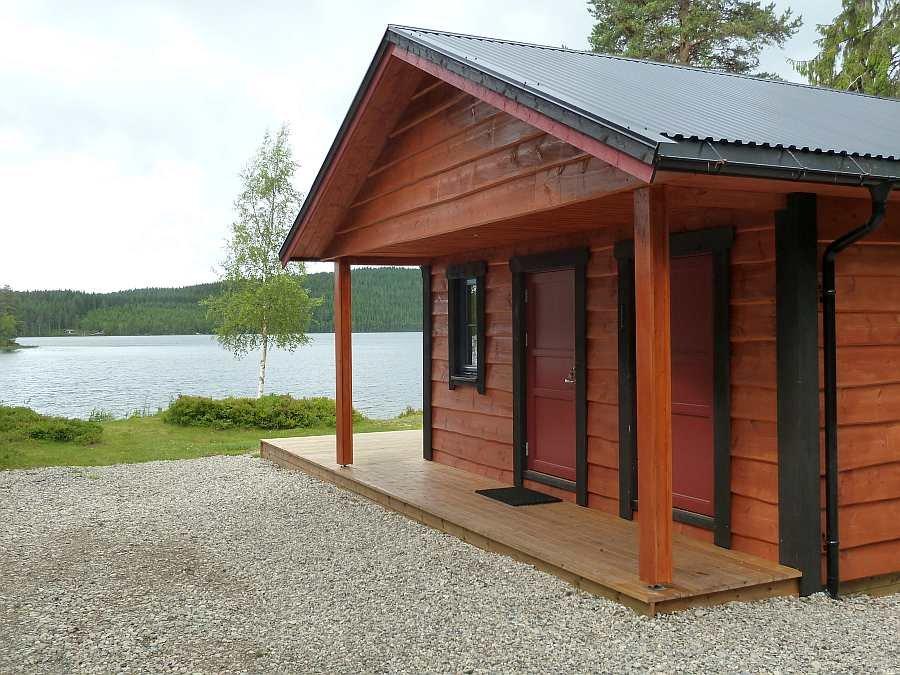 Im Haus Landsjøen kann man völlig ungestörte Tage verleben