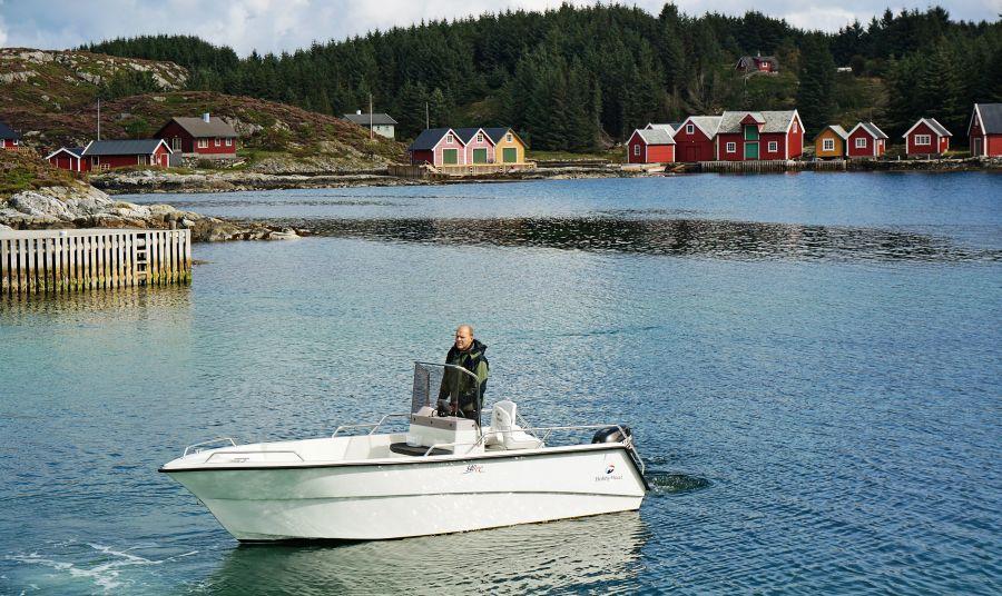 Ein gutes Angelboot können Sie bei Bedarf dazubuchen