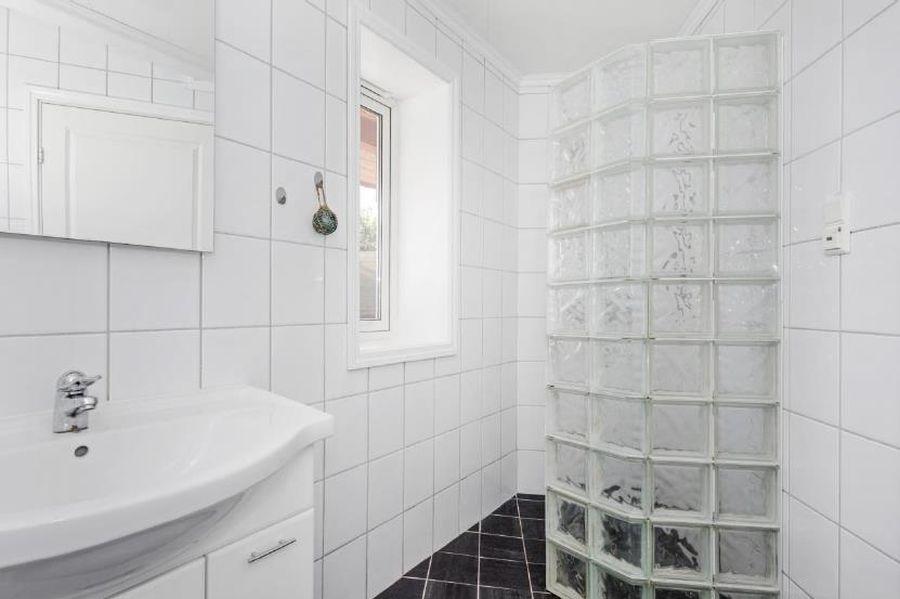 Das Bad der Ferienwohnung für 2-4 Personen