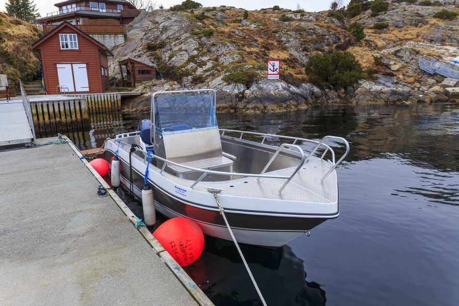 Das Kværnø-Aluboot bringt sie schnell, sicher und komfortabel zum Fisch
