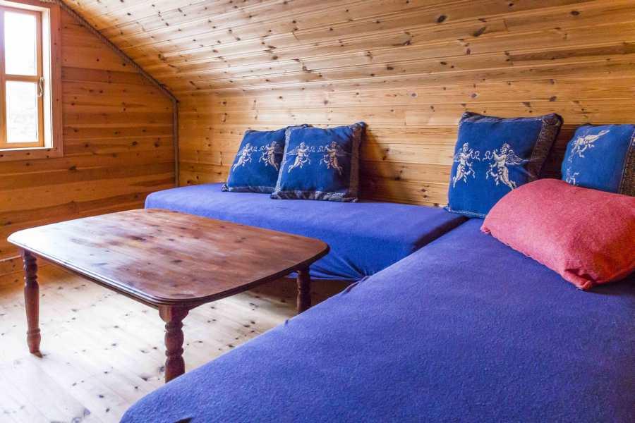Obere Etage des Bootshauses. Diese können Sie optional vor Ort als Zusatzraum buchen...