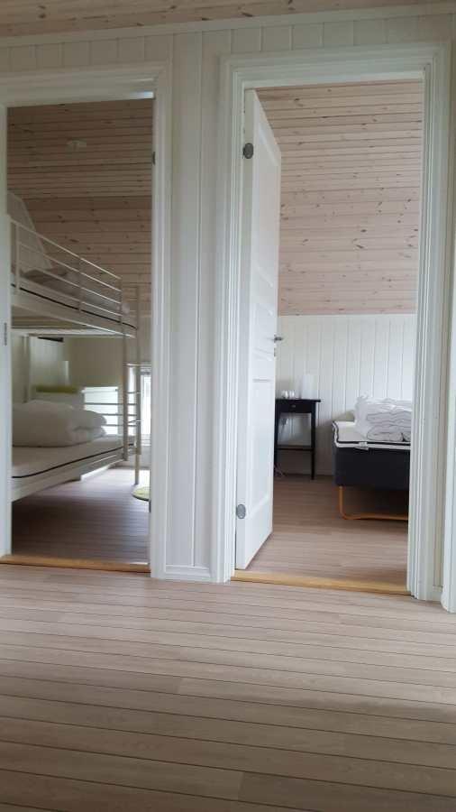 Wohnbeispiel: Schlafzimmer im großen Rorbuer (Typ 1)