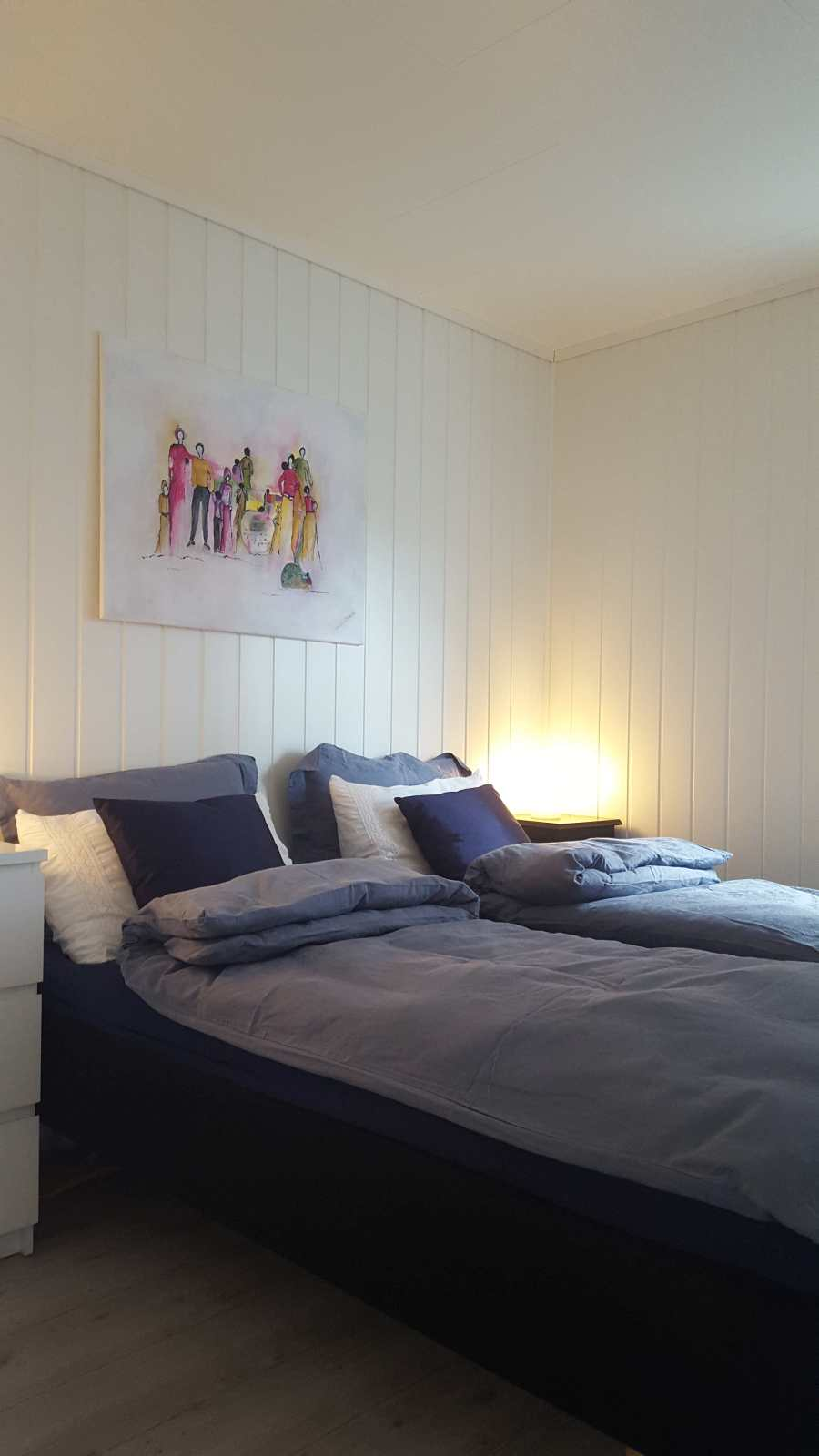 Wohnbeispiel: Schlafzimmer mit Doppelbett
