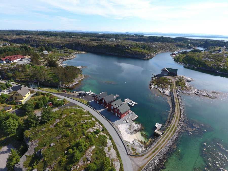 Hafenmole von Heggøy