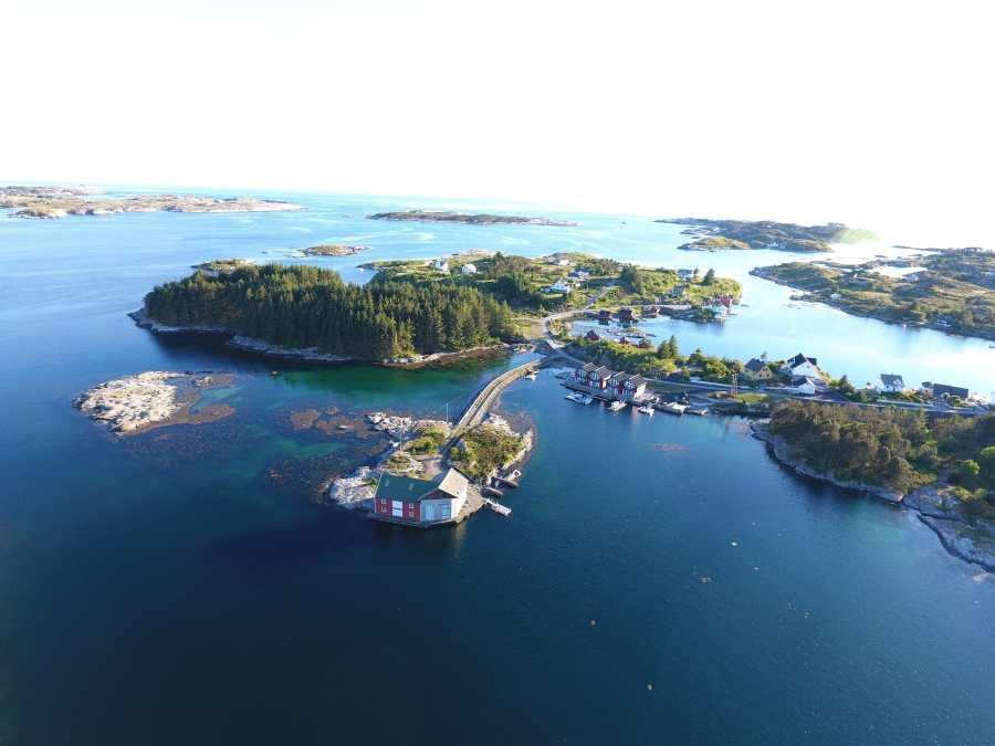 Hier geht´s nach Heggøy