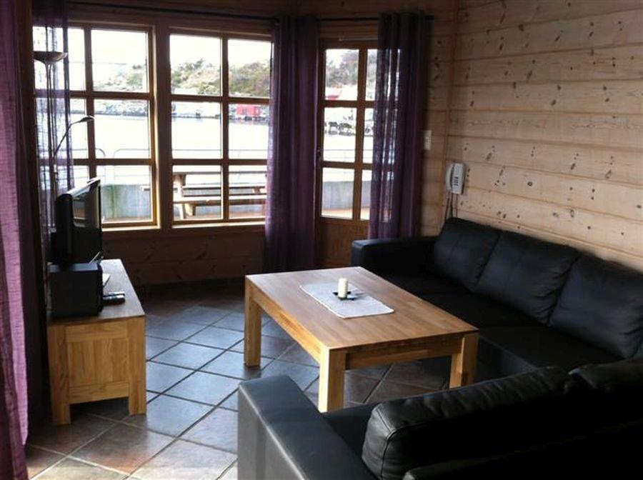 Neue und moderne Wohnungen sind in Herdla Standard.