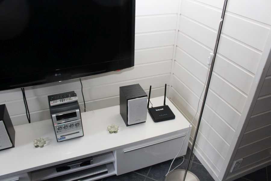 Ein dichtes Netz an Routern und Repeatern sorgt für eine vernünftige WLAN Verbindung in allen Unterkünften.