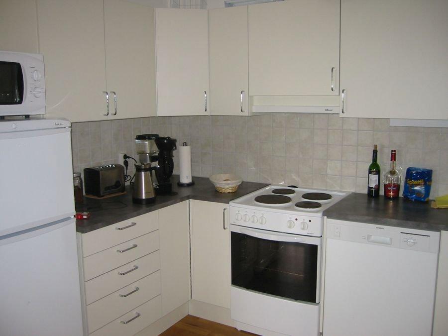 Küche in Wohnung Typ B4