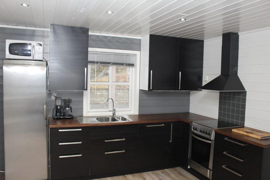 Jede Wohnung hat eine neue, großzügige Küche...
