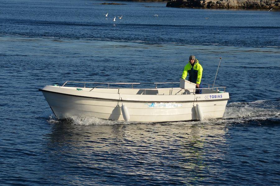 Hier eines der Tobias-Dieselboote