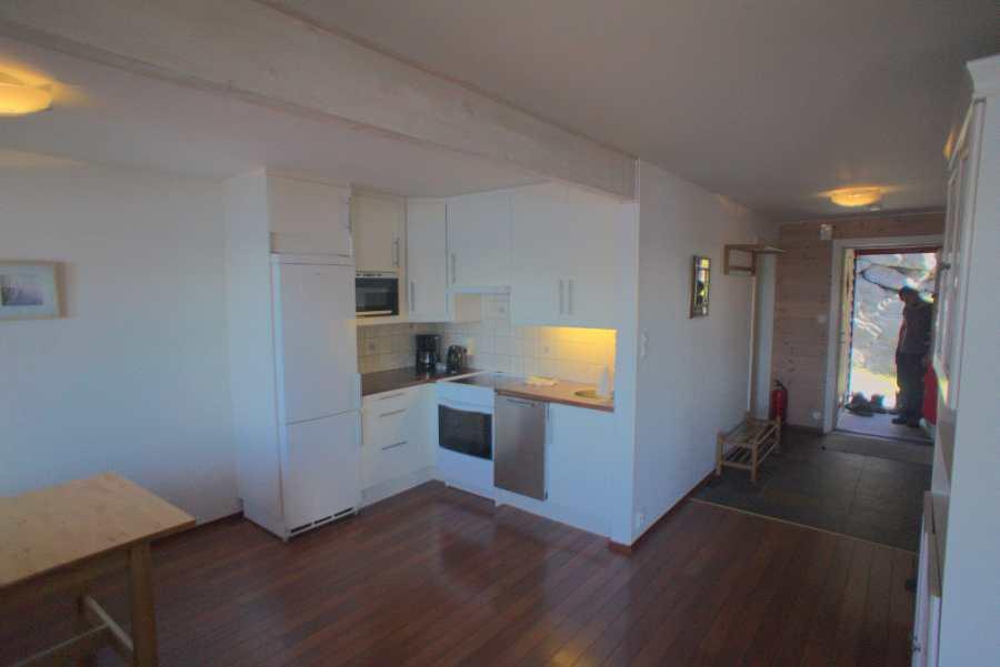 Küche im Wohnungstyp B1