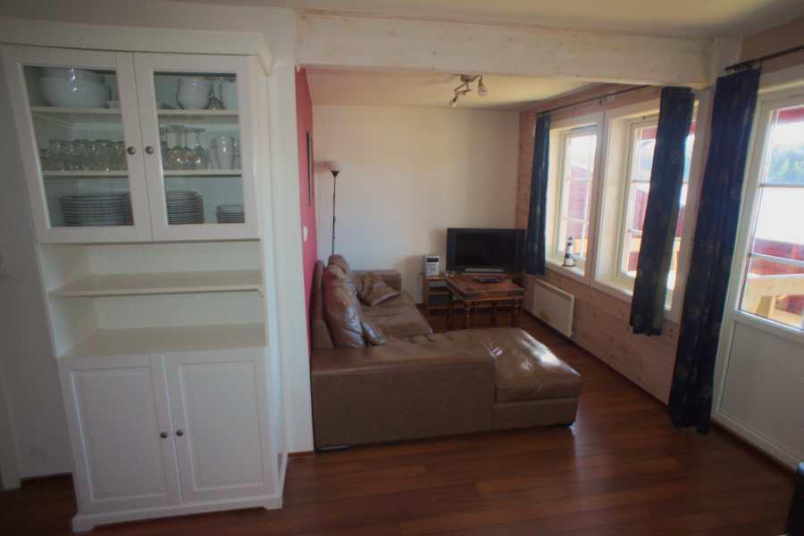 Wohnzimmer im Wohnungstyp B1
