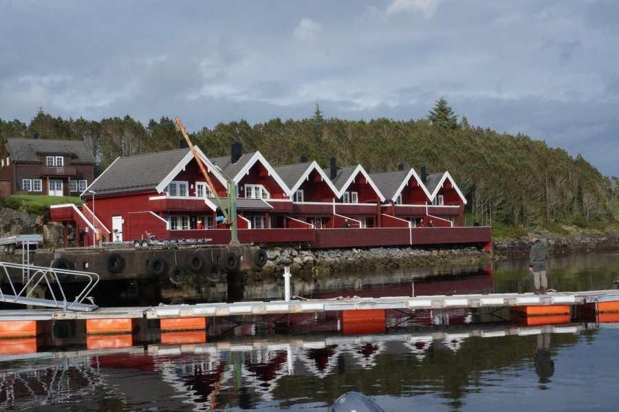 Die komfortable Ferienanlage Kvalheim auf Radøy