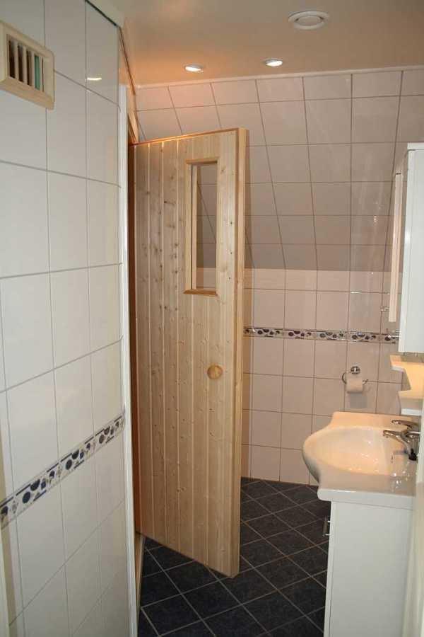 Eine eigene Sauna befindet sich in den meisten Apartments - genaue Infos siehe unter ,,Unterkunft