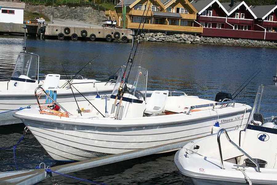 Uttern Boote mit 50 PS, Echolot und GPS/Kartenplotter