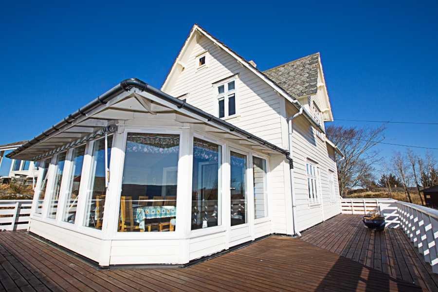 Kleine Insel, großes Haus - Das Ferienhaus Lerøy ist ein Traum für Angler und Genießer!