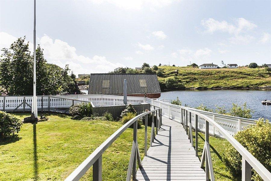 Der Weg zum Seehaus